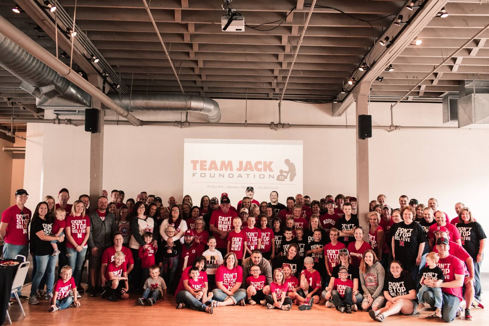 Team Jack group picture