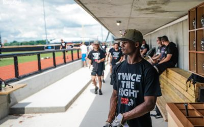 Vandy Boys Support Team Jack and Childhood Brain Cancer at 2021 College World Series